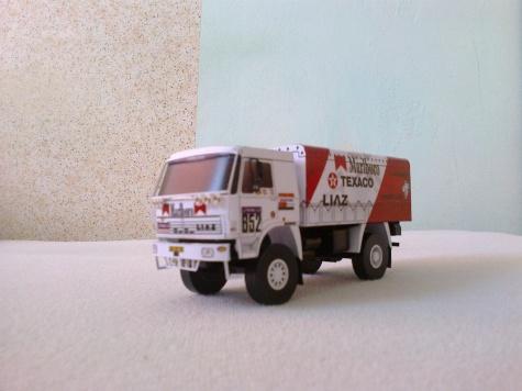 Liaz 111.154D Marlboro Dakar 1988