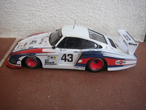 Porsche 935/78 _Moby Dick_ , M. Schurti-R. Stommelen, Le Mans 1978