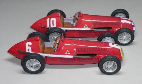 Alfa Romeo 158 - Juan Manuel Fangio - GP Francie 1950