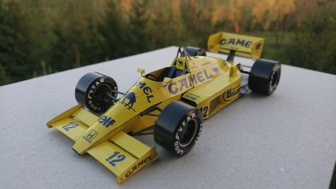 Lottus Ayrton Senna 1987