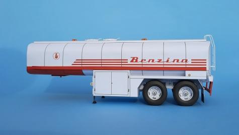 cisternový návěs ZTS CN 23 TO Benzina