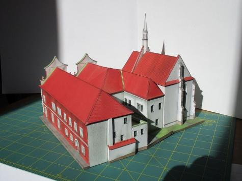 Radnice a kostel Sv. Víta