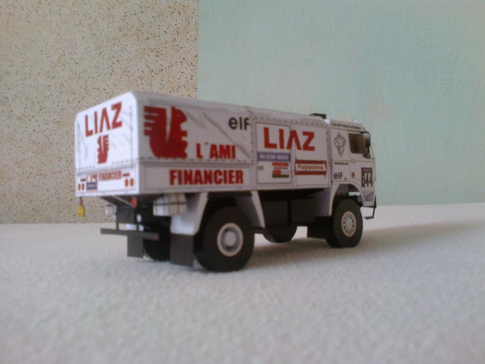 Liaz 111.154D L´ami financier Dakar 1988