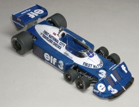 Tyrrell P34 - Ronnie Peterson - GP Itálie 1977