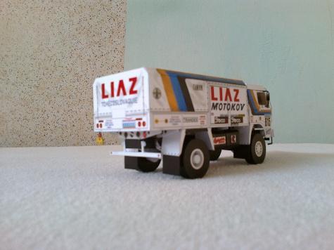 Liaz 111.154D 614 a 615 Dakar 1987