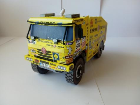 Tatra 815 4x4, Rallye Dakar 2006