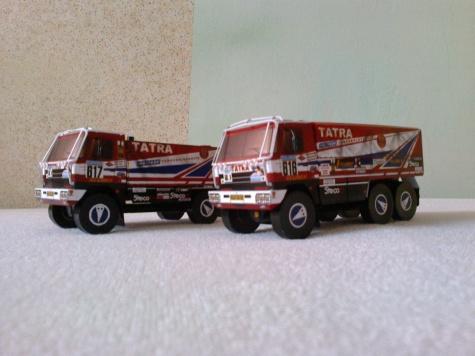 Tatra 6x6 ,Babča´ Dakar 1987