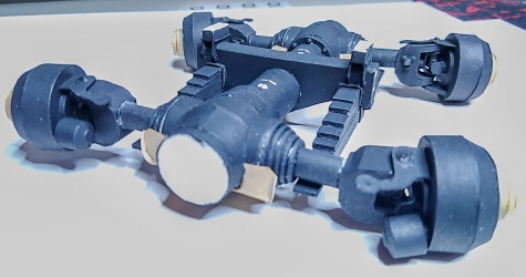 Tatra 815-6 VWN9T + Kögel Kamag / Spida Models /1:25