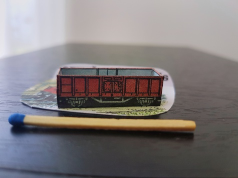 Otvorený vagón Es