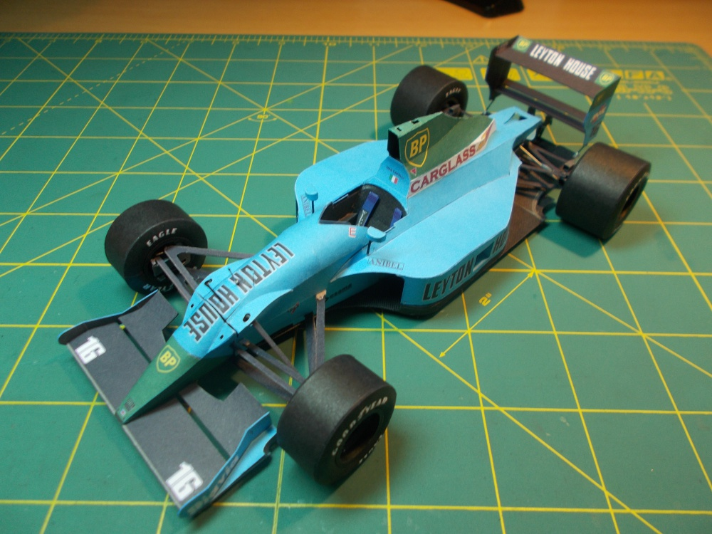 Leyton House CG901B, Ivan Capelli, France GP 1990