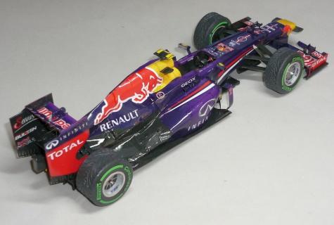 Red Bull RB9 - Mark Webber - GP Malajsie 2013