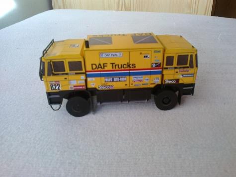 Daf FAV 3300 Twincab Dakar 1985 1:53
