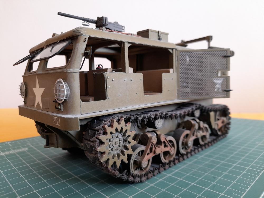 M4 + 155 mm Long Tom