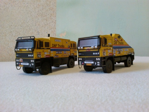Daf FAV 3300 The Bull Dakar 1985 1:53