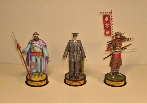 figurky historických vojáků