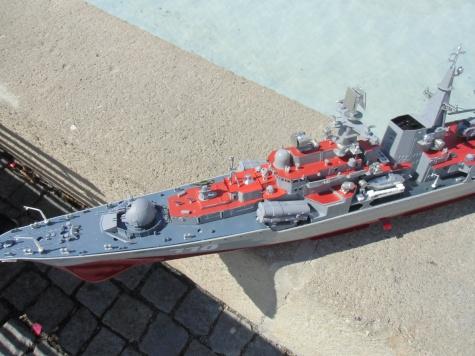 raketový torpedoborec Sovremennyj