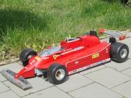 Ferrari 126 C. turbo 1980