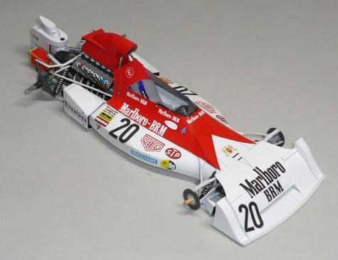 BRM P160E - Jean Pierre Boltoise - GP V. Bitánie 1973