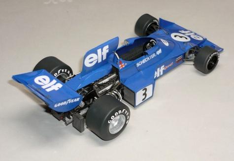 Tyrrell 007 - Jody Scheckter - GP Švédska 1974