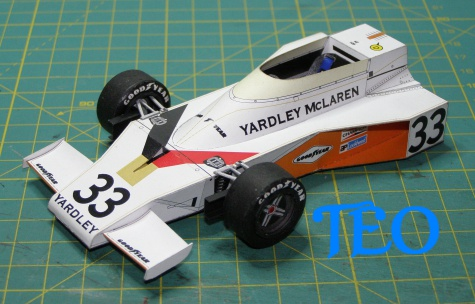 Mc Laren M23 Yardley