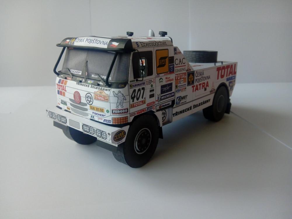 TATRA 815 2 ZE R 55 4x4 Puma, Dakar 2000