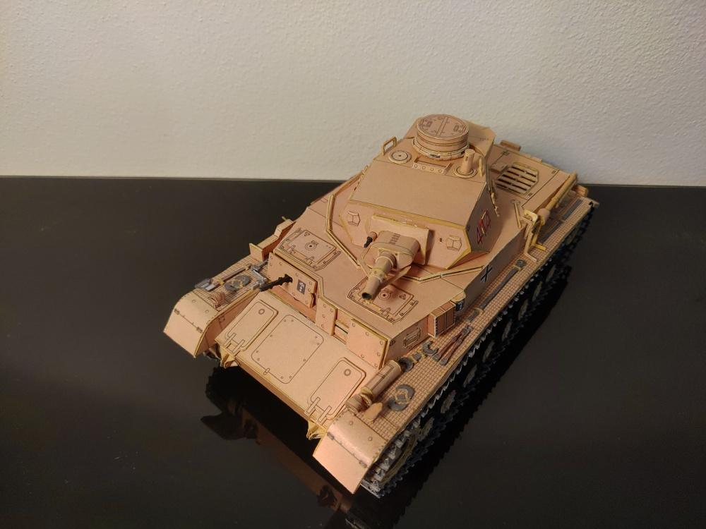 Pz.Kpfw IV Ausf. D DAK