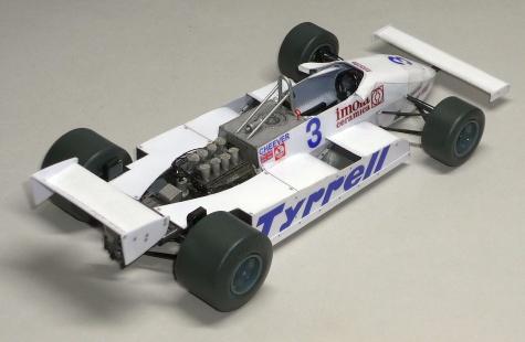 Tyrrell 011 - Eddie Cheever - GP V.Británie 1981