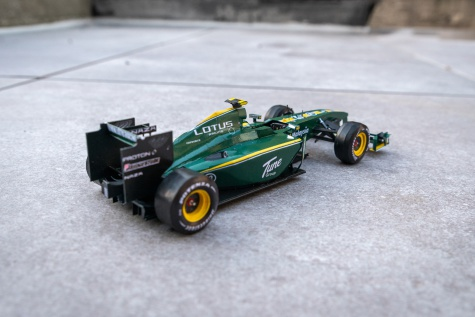 Lotus Cosworth T127, Heikki Kovalainen, GP Bahrain 2010