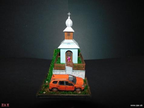 Kaplnka sv. Anny v osade Kysuca, obec Drabsko