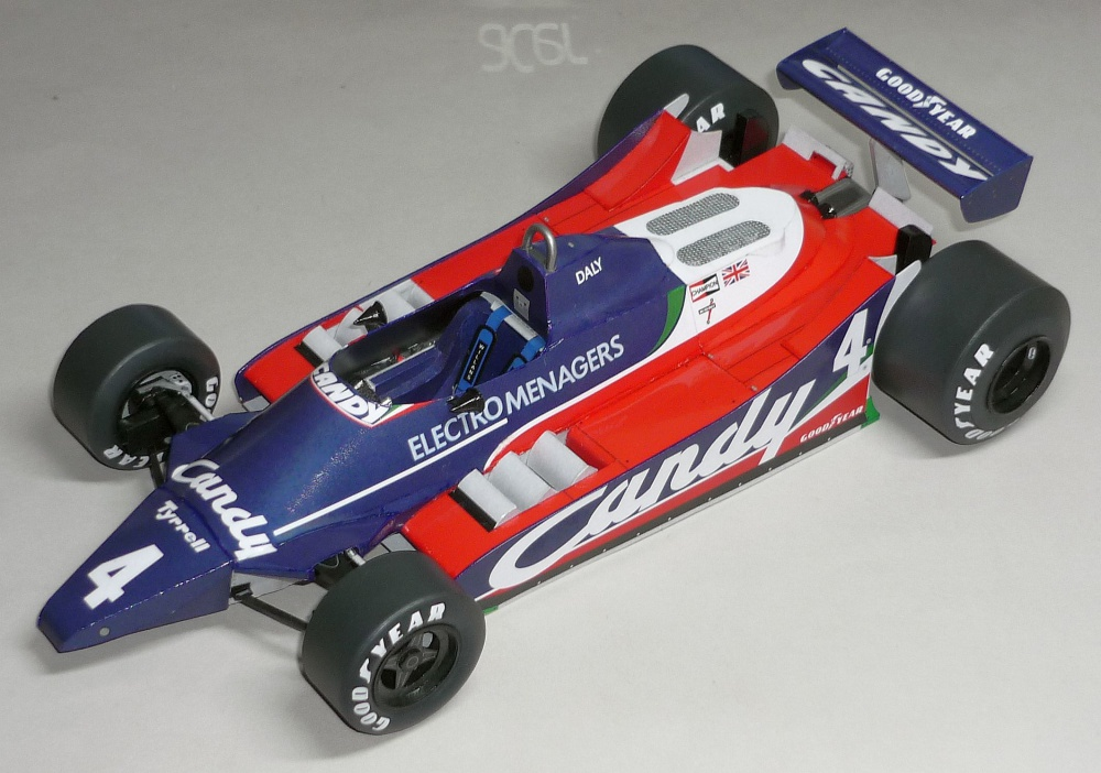 Tyrrell 010 - Derek Daly  - GP Monaka 1980