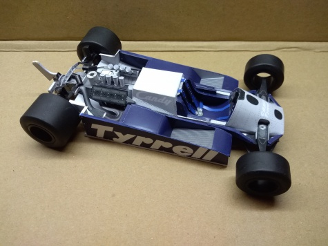 Tyrrell 010, E. Cheever, US West GP 1981
