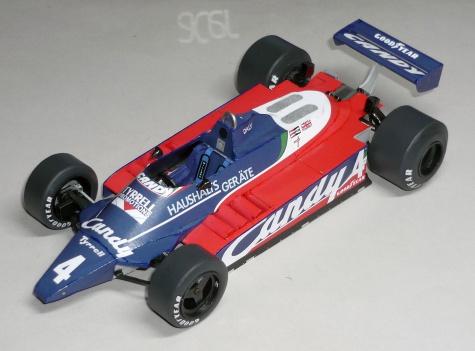 Tyrrell 010 - Derek Daly  - GP Nizozemí 1980