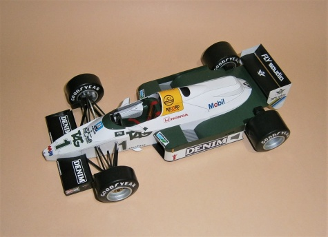 Aréna 18 - Williams FW09 - K.Rosberg, GP JAR-Kyalami 1983 - 1:18