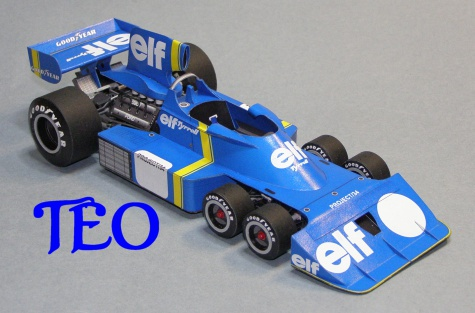 Tyrrell P34 prototype