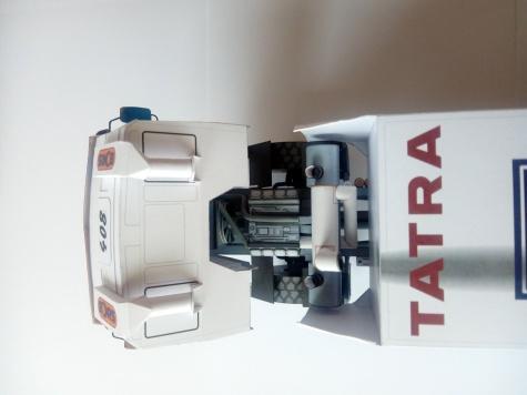 TATRA  T 815 -  2 ZV R 45 - 16400 4x4.1 Žabák, Dakar 2002