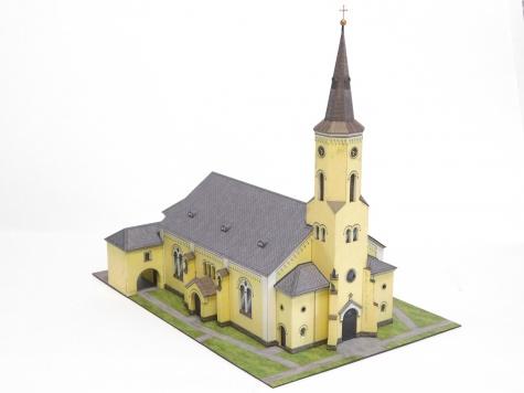 Poutní kostel Nanebevzetí Panny Marie – Hrabyně