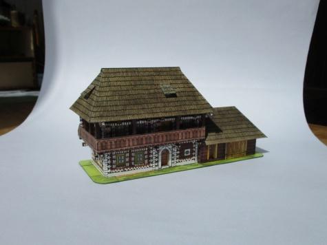 Srubové domy z Čičman