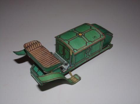 Elektřinou hnaný vůz poštovní