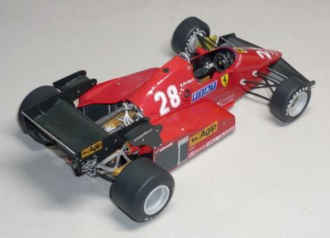 Ferrari 126C3 - René Arnoux - GP Německa 1983