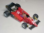 Ferrari 126C3 - René Arnoux - GP Nìmecka 1983