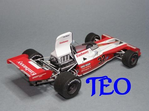 Tyrrell Ford 004 E.Keizan VC Jizní Afriky 1974
