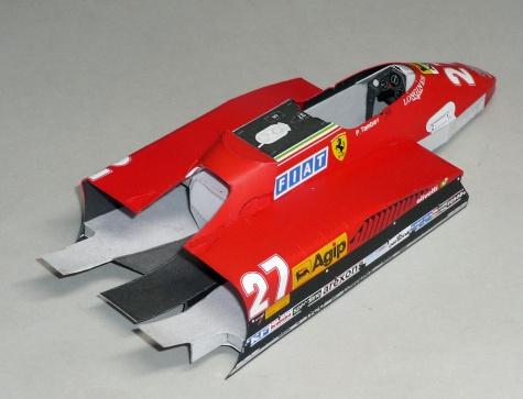 Ferrari 126C2 - Patrick Tambay - GP Německa 1982