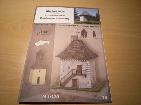 Obytná veža - Zemianske Kostolany
