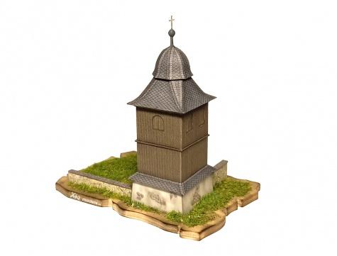 Zvonice u kostela sv. Kryštofa, Kryštofovo Údolí