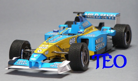 Renault R202 Jarno Trulli 2002