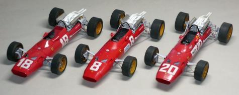 Ferrari 312/67 - Chris Amon - GP V.Británie 1967
