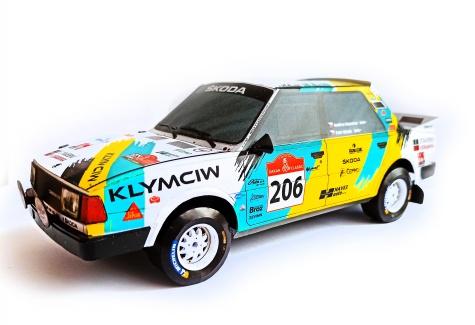 Škoda 130LR Dakar 2021/ M. Antonicky + recolor a úpravy