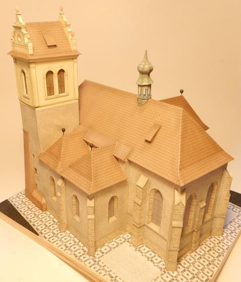 kostel sv. Martina ve zdi 1:150 (Praha) Ondřej Hejl