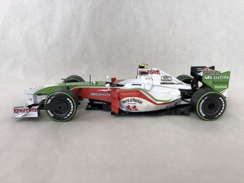 Force India VJM02, Giancarlo Fisichella, 2009