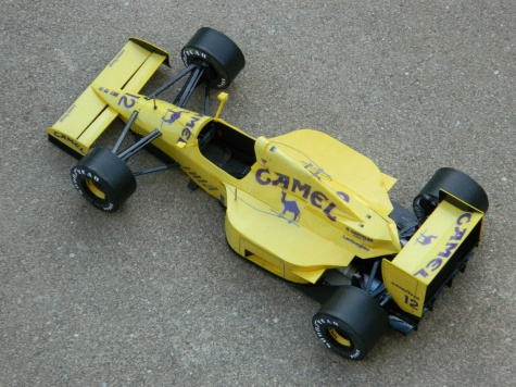 LOTUS 102 M.Donnelly 1990